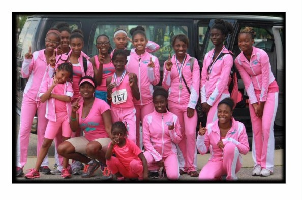The Kentucky Fillies Elite Track Team is coached by a single mom of three. Help the girls make it to AAU Track and Field Junior Olympic National Championships in Detroit, Michigan at the end of this month.